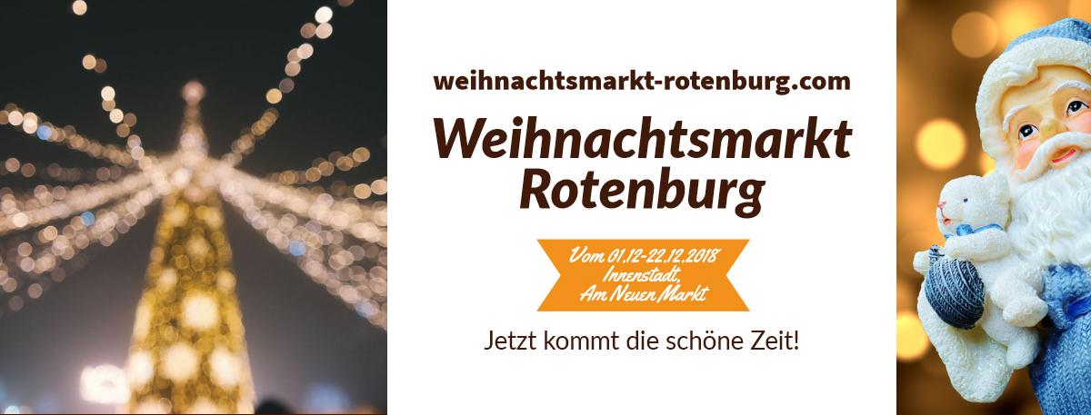 Weihnachtsmarkt Rotenburg
